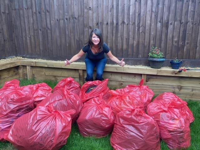 Michelle dedicated 30 hours to litter picking during the course of a week.