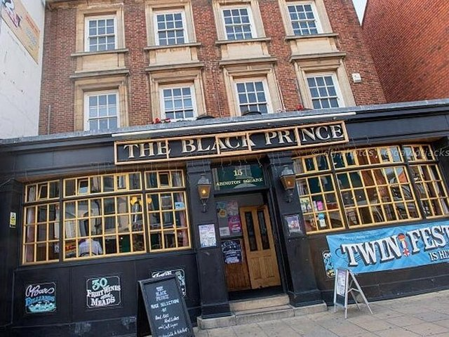 The Black Prince is a popular pub and music venue in Northampton