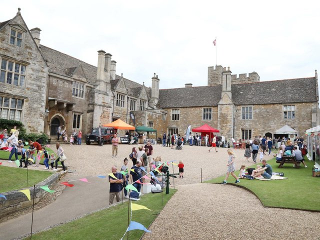 The Rockingham Castle Food and Drink Fair.