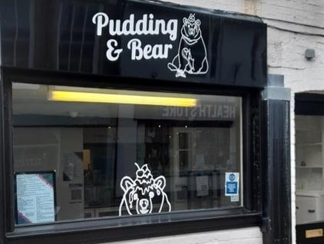 Pudding & Bear in Daventry.