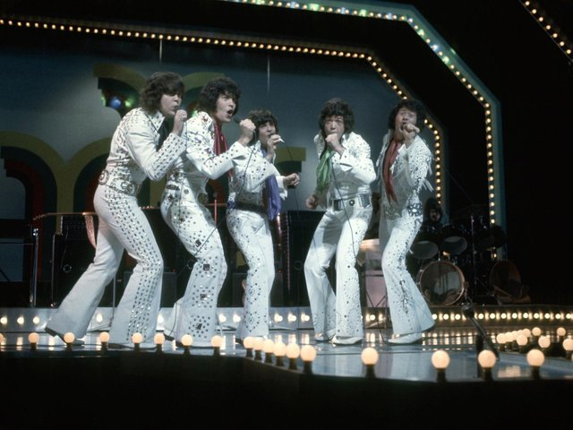 The Osmonds. Photo: Getty Images