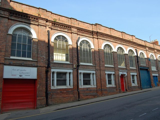 NN Contemporary Art has temporarily moved to the Vulcan Works Creative Hub on Fetter Street.