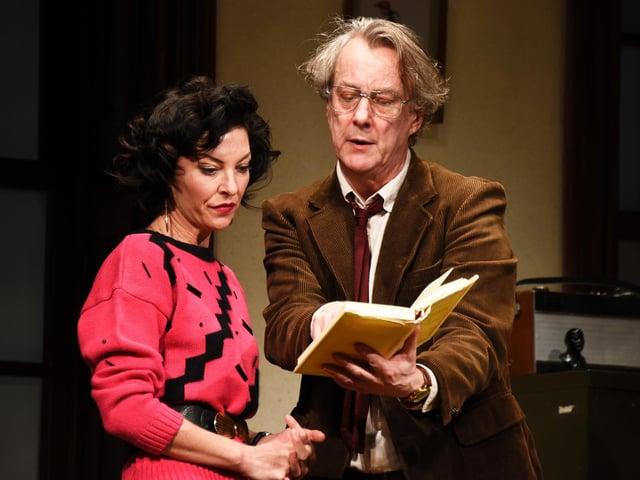 Stephen Tomkinson and Jessica Johnson starred in Educating Rita